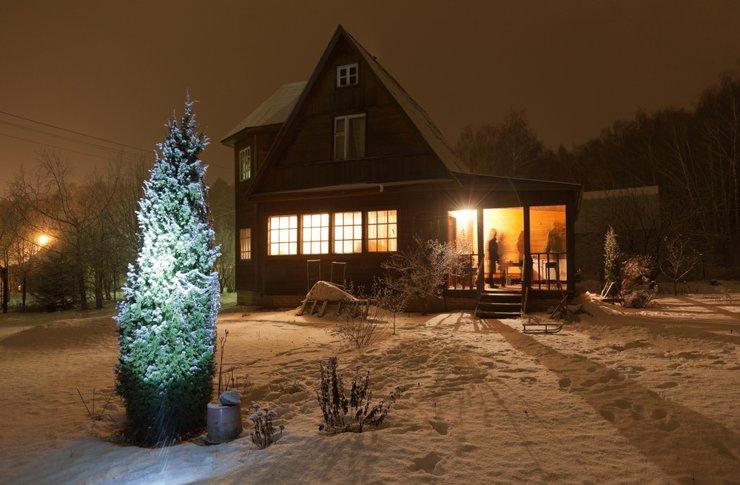 Где москвичи будут арендовать коттеджи на Новый год?