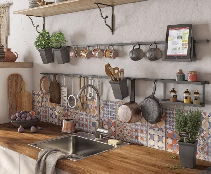 7 функциональных решений для удобной кухни