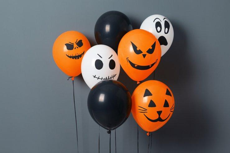 Самый забавный праздник года или украшаем квартиру к Хэллоуину