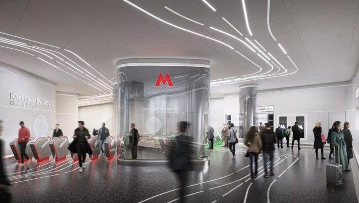 Станцию метро «Кленовый бульвар 2» построят по проекту Zaha Hadid Architects