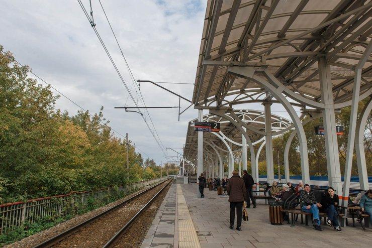 Железнодорожная платформа на Первомайской
