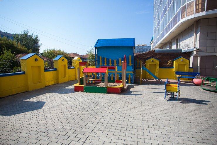 Компактная площадка для маленьких детей