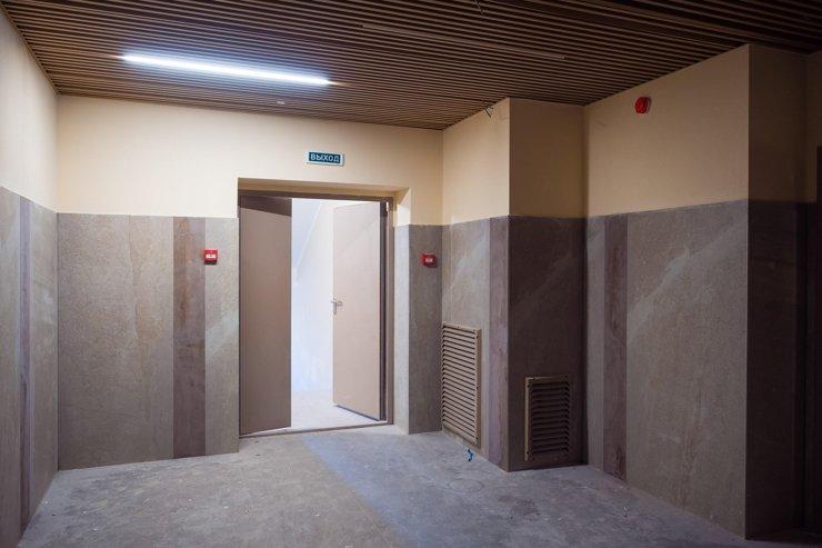 На лестничных клетках будет пожарная вентиляция и датчики дыма.