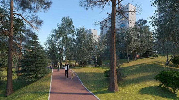 В планах застройщика— превратить лес поблизости в популярное место прогулок