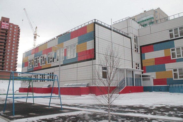 Детский сад сдадут к началу следующего года