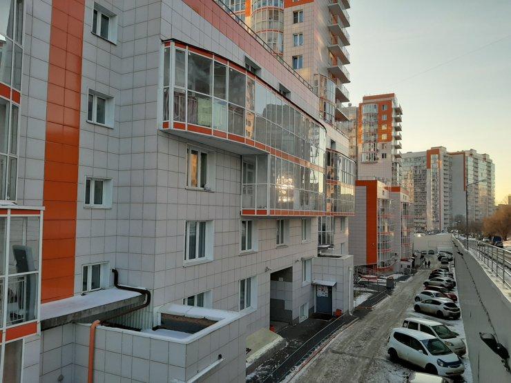 Местами дома выглядят нагромождением построек