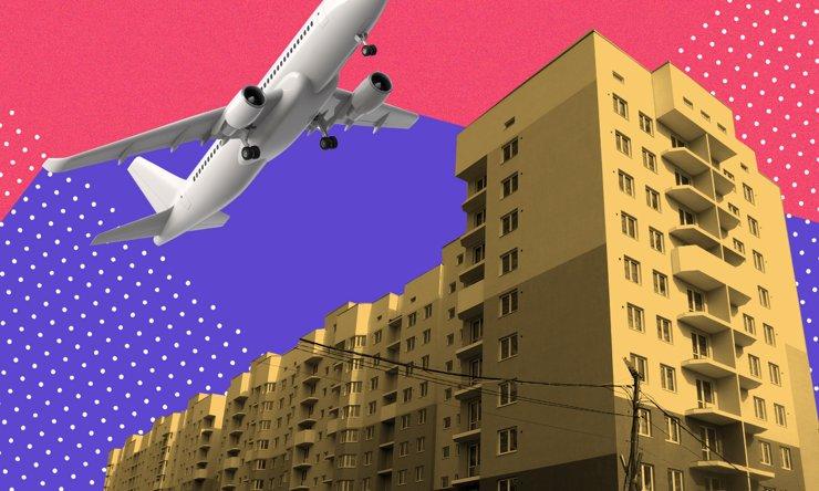 Жилой комплекс «Кольцовский дворик»: под крылом самолета