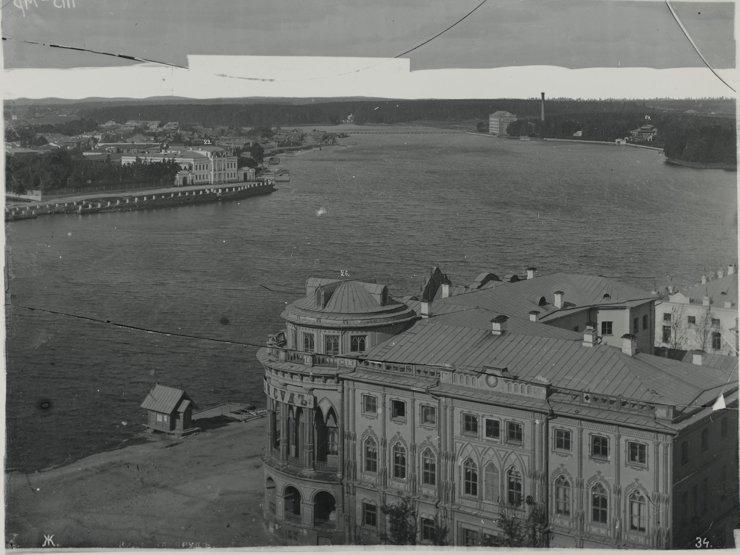 Фотография Метенкова с высоты Екатерининского собора