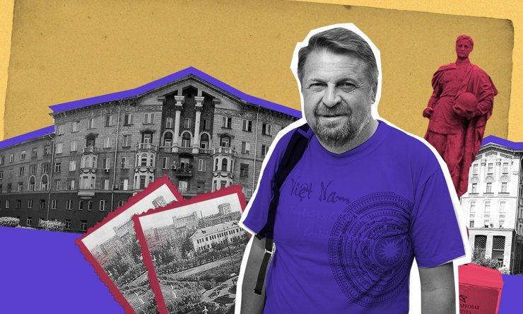 «По волне моей памяти»: прогулка по Соцгородку с краеведом Константином Голодяевым