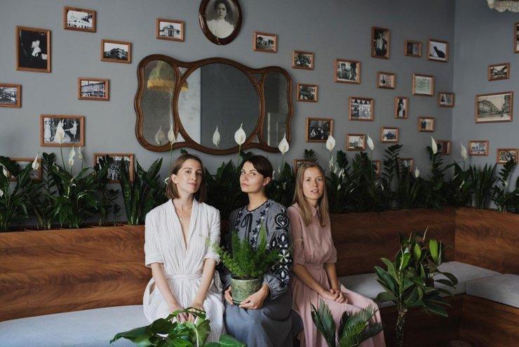 Команда Plants for Friends: Варвара Щербакова, Екатерина Минина и Екатерина Фалдина