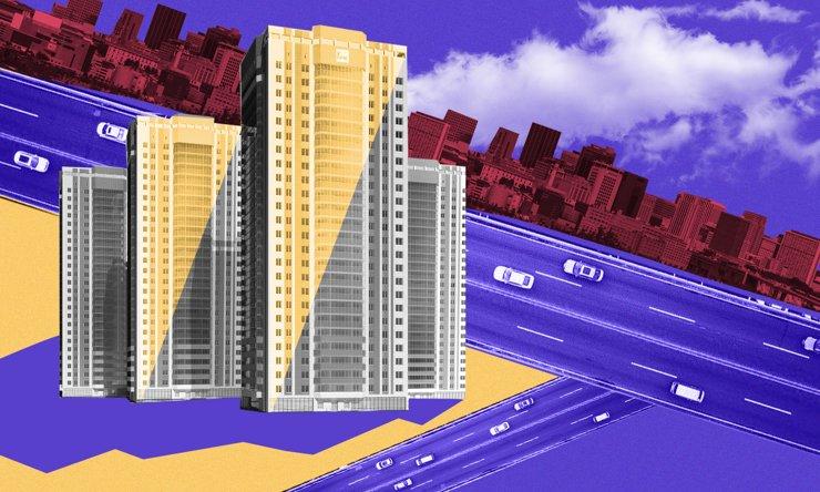 Верю— не верю: высотки «Гурьевского» в кольце одноэтажек